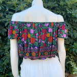 Butterfly Top - Navy Blossom