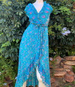 Karma Wild Dress - Aquamarine