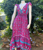 Karma Princess Dress - Magenta
