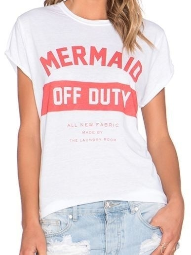 Mermaid Off Duty Tee
