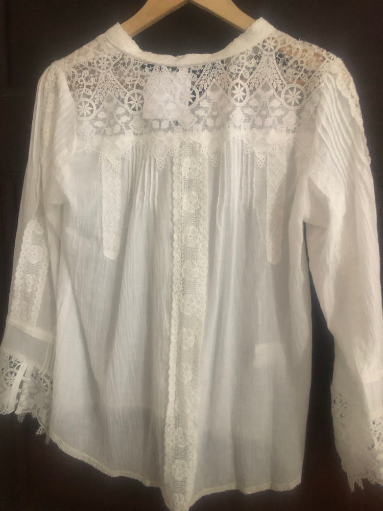 Lily - Lace Blouse