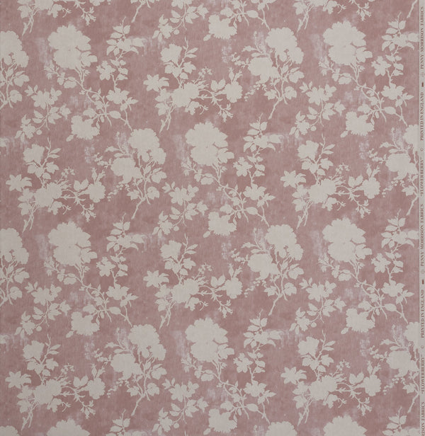 Wallpaper Flowerberry Pink Wallpaper Penny Morrison BABY PINK, BEDROOM, COLOUR_PINK, DELICATE, FLORAL, LEAF, NATURE, PASTELS, PATTERN_FLORAL, PRETTY, SOFT PINK, TREE, VINE, VINTAGE, WALLPAPER