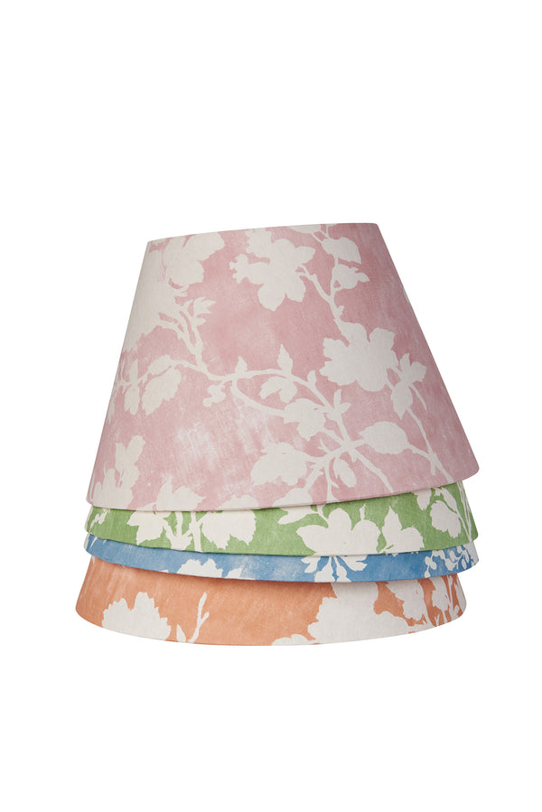 Flowerberry Pink Laminated Pembroke Lampshade