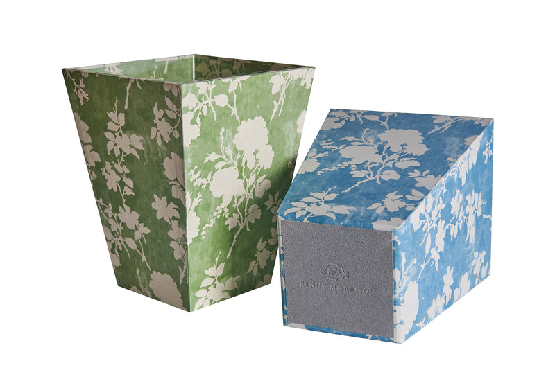 Flowerberry Green Waste Paper Bin