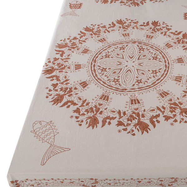 Penny-Morrison-Aleppo-Cinnamon-Tablecloth-Unique-Illustrated-Bohemian-Pattern-brown-neutral