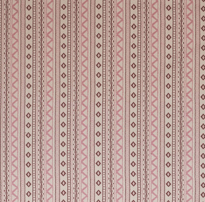 Fabrics Andean Vertical Stripe Pink Penny Morrison AZTEC, COLOUR_PINK, COLOUR_RED, DESIGNER_PENNY MORRISON, PATTERN_GEOMETRIC, PATTERN_STRIPES, STRIPES