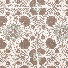 Fabrics Arabella Taupe Penny Morrison bohemian, COLOUR_BROWN, DESIGNER_PENNY MORRISON, ethnic, PATTERN_ABSTRACT, TIE DIE