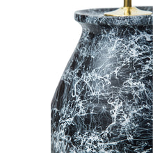 Lamps Black Marbled Rounded Urn Ceramic Lamp Base Penny Morrison ANTIQUE, BASE STYLE_ROUNDED URN, bestseller, CERAMIC, CHUNKY, COLOUR_BLACK, COOL, GREY, LAMP BASE, LAMPS, LIGHTING, MARBLE, MONOCHROME, NEUTRAL, QUIRKY, SIMPLE, STATEMENT, UNIQUE, WHITE