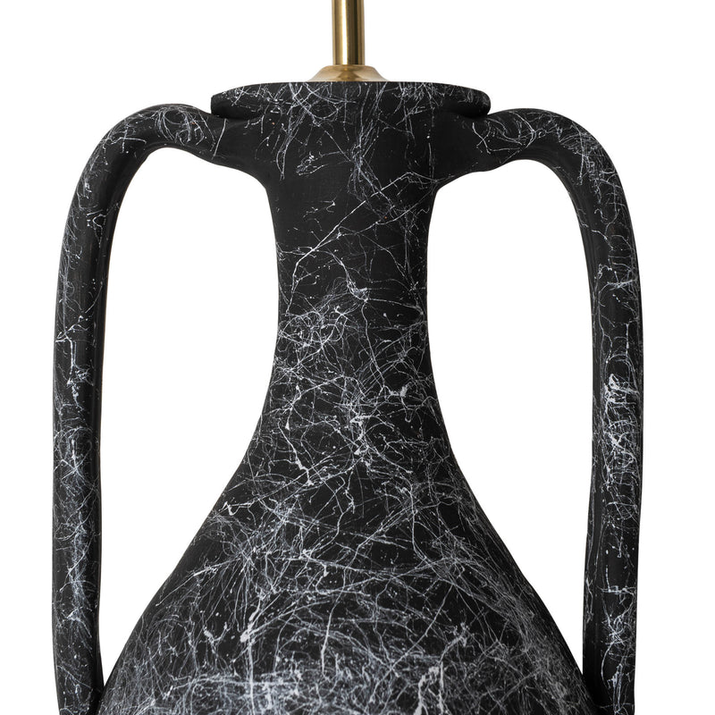 Penny-Morrison-Black-Marbled-Tall-Urn-with-Handles-Ceramic-Lamp-Base-Quirky-Unique-Statement-Hand-Painted-Bespoke-Artisanal