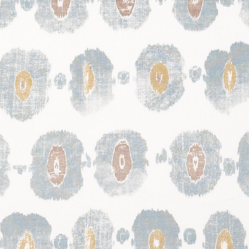 Fabrics Bolton Blue Penny Morrison BOLD, CIRCLES, COLOUR_BLUE, DESIGNER_PENNY MORRISON, PATTERN_ABSTRACT, PATTERN_DOTS, REPEATED, ROUND