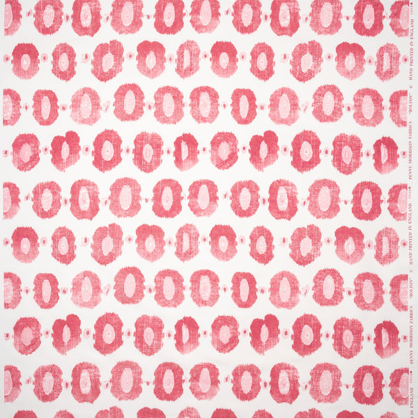 Fabrics Bolton Pink/Raspberry Penny Morrison BOLD, CIRCLES, COLOUR_PINK, DESIGNER_PENNY MORRISON, PATTERN_ABSTRACT, PATTERN_DOTS, REPEATED, ROUND