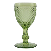 Tableware Green Chalice Wine Glass Penny Morrison CHALICE, COLOUR_GREEN, COLOURFUL, Cut, Diamond, DRINKING GLASS, Glass, GLASSWARE, GREEN, QUIRKY, Tableware, UNIQUE, WINE