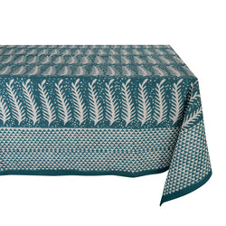 Green Fern Tablecloth