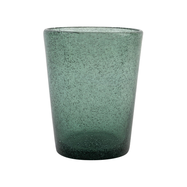Tableware Dark Green Glass with Bubble Effect Penny Morrison BUBBLE, COLOUR_GREEN, COLOURFUL, DARK GREEN, DRINKING GLASS, Glass, GLASSWARE, GREEN, QUIRKY, Tableware, TEAL, UNIQUE, WINE