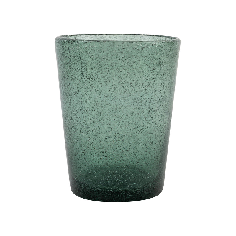 Penny-Morrison-Dark-Green-Glass-with-Bubble-Effect-Quirky-Unique-Playful-Pretty-Table-Accessories-Tableware