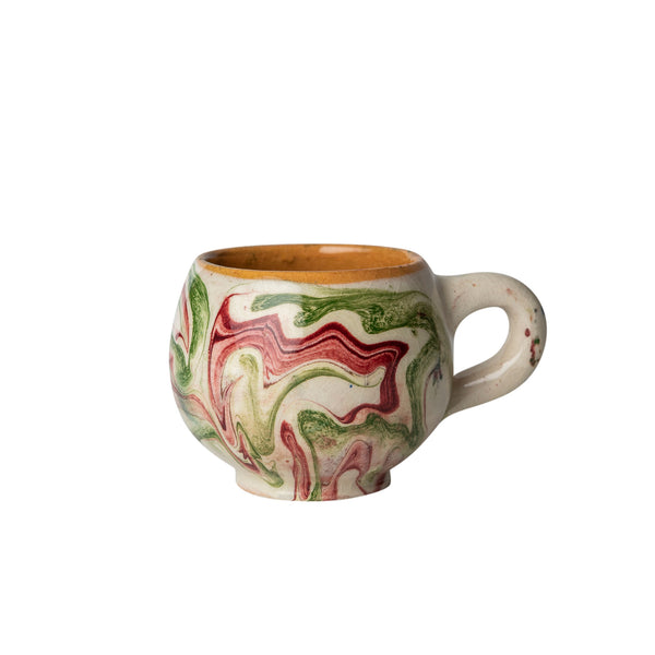 Penny-Morrison-Green-and-Pink-Marbled-Ceramic-Large-Coffee-Cup-Unique-Hand-Painted-Glazed-Patterned-Arty-inky-quirky-individual-mug