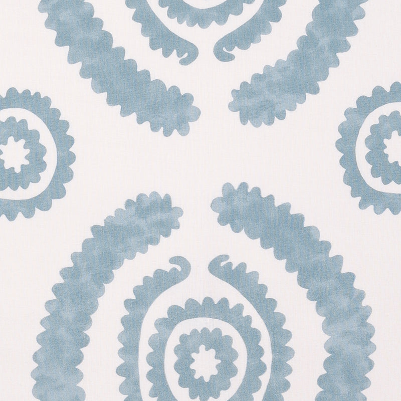 Fabrics Haveli Blue Penny Morrison BOLD, CIRCLES, COLOUR_BLUE, DESIGNER_PENNY MORRISON, DOODLE, DOTS, PATTERN_ABSTRACT, PATTERN_DOTS, PLAYFUL, ROUND, SQUIGGLE