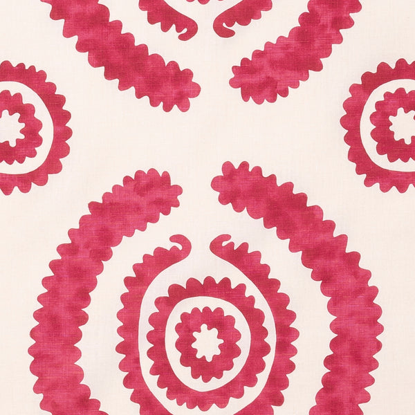 Fabrics Haveli Red Penny Morrison BOLD, CIRCLES, COLOUR_PINK, DESIGNER_PENNY MORRISON, DOODLE, DOTS, PATTERN_ABSTRACT, PATTERN_DOTS, PLAYFUL, ROUND, SQUIGGLE