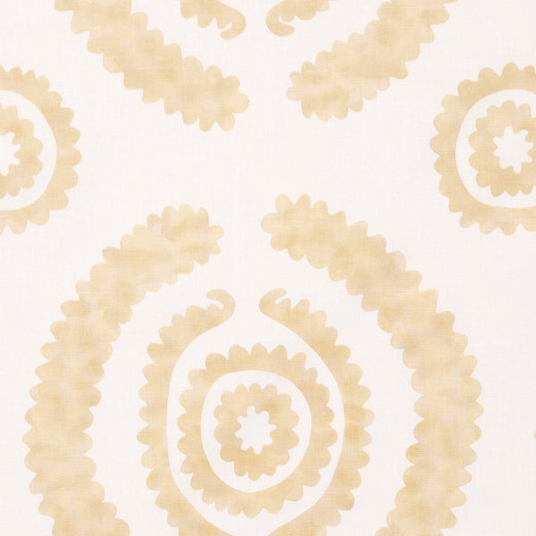 Fabrics Haveli Yellow Penny Morrison BOLD, CIRCLES, COLOUR_ORANGE, COLOUR_YELLOW, DESIGNER_PENNY MORRISON, DOODLE, DOTS, PATTERN_ABSTRACT, PATTERN_DOTS, PLAYFUL, ROUND, SQUIGGLE