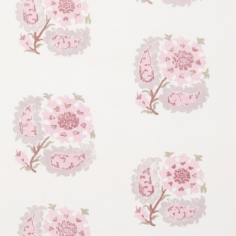 Fabrics Helena Pink Penny Morrison COLOUR_PINK, DESIGNER_PENNY MORRISON, flower, ILLUSTRATIVE, leaf, MEDIEVAL, NATURE, PATTERN_FLORAL, REPEATED, TAPESTRY, UNIQUE