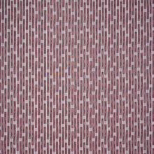 Fabrics Inca Vertical Stripe Red Penny Morrison COLOUR_RED, DESIGNER_PENNY MORRISON, LINES, PATTERN_STRIPES, RUSTIC, TEXTURE, VERTICAL