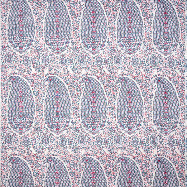 Fabrics Jamawar Penny Morrison COLOUR_BLUE, COLOUR_PINK, COLOUR_PURPLE, DESIGNER_PENNY MORRISON, DETAILED, Floral, Indian, INTRICATE, PAISLEY, PATTERN_FLORAL
