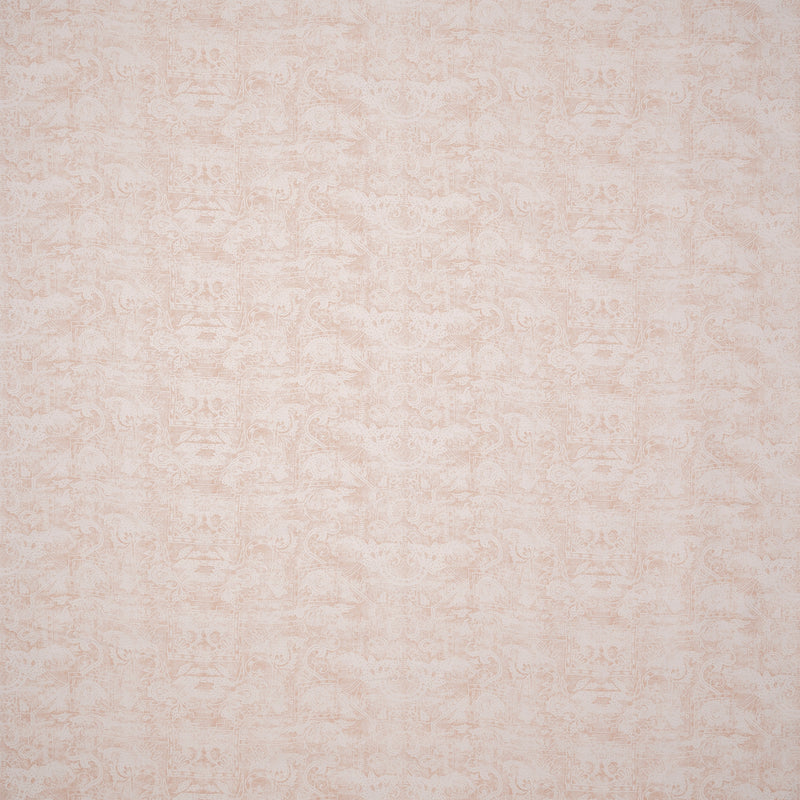Fabrics Kilta Shell (Pink) Penny Morrison COLOUR_PINK, DESIGNER_SARAH VANRENEN, FADED, GOLD, NATURAL, PATTERN_ABSTRACT, PATTERN_GEOMETRIC, PRINT, RUSTIC, SHELL, VERTICAL, VINTAGE
