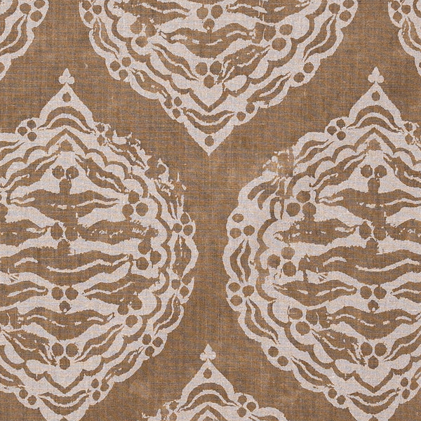 Fabrics Mander Mustard Penny Morrison BEIGE, BLOCK PRINT, bohemian, BRIGHT, COLOUR_BROWN, DESIGNER_PENNY MORRISON, DIAMONDS, ETHNIC, INDIAN, MUSTARD, PATTERN_ABSTRACT, repeated, ROUND