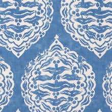 Fabrics Mander Light Blue Penny Morrison BLOCK PRINT, bohemian, BRIGHT, COLOUR_BLUE, CORNFLOWER, DESIGNER_PENNY MORRISON, DIAMONDS, ETHNIC, INDIAN, PATTERN_ABSTRACT, repeated, ROUND