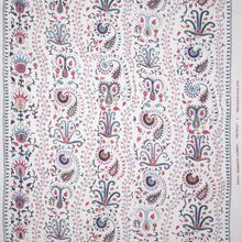 Fabrics Mughal Penny Morrison DESIGNER_PENNY MORRISON, DETAIL, FLOWERS, garden, ILLUSTRATIVE, Indian, intricate, lines, PATTERN_FLORAL, VERTICAL, WHIMSICAL