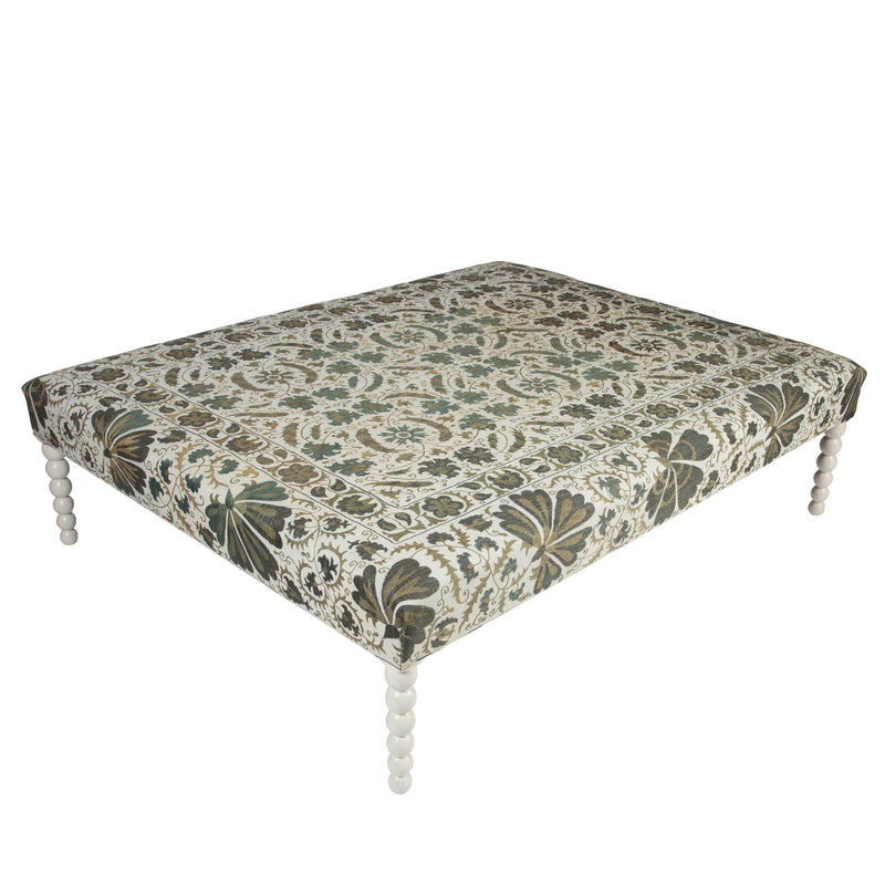 Furniture Ottoman with Legs Penny Morrison bespoke, furniture, home accessory, made to order, Ottoman, statement