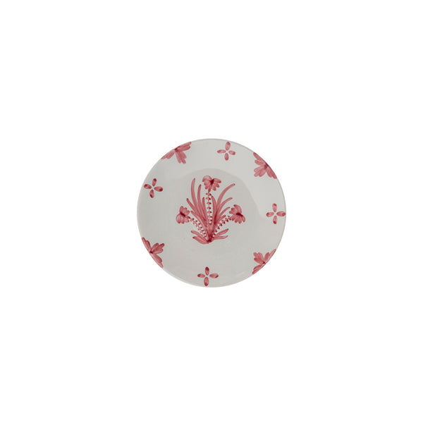 Tableware Pink Summer Flower Ceramic Small Plate Penny Morrison ceramics, COLOUR_PINK, crockery, dining, fancy, floral, flower, motif, PATTERN_FLORAL, pink, place setting, plate, pottery, pretty, sets, side plate, small, Tableware