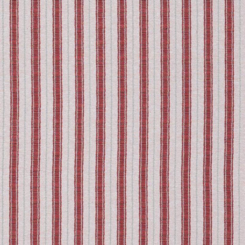 Fabrics Sketched Stripe Red/ Pale Green Penny Morrison AZTEC, COLOUR_PINK, DESIGNER_PENNY MORRISON, PATTERN_GEOMETRIC, PATTERN_STRIPES, STRIPES