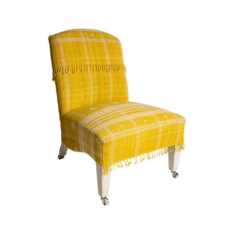 Furniture Slipper Chair Penny Morrison bespoke, chair, furniture, home accessory, made to order, slipper chair, sofa