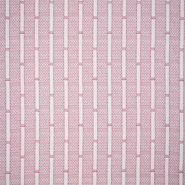 Fabrics Stripes & Diamonds Cream/Pink Penny Morrison BOLD, COLOUR_PINK, CREAM, DESIGNER_PENNY MORRISON, DETAILS, GEOMETRIC, lines, PANELS, PATTERN_STRIPES, SQUARES, STATEMENT, STRIPES