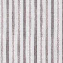 Fabrics Ticking Stripe Nutmeg Penny Morrison BOLD, COLOUR_BROWN, DESIGNER_PENNY MORRISON, GEOMETRIC, LINES, NEUTRAL, NUTMEG, PANELS, PATTERN_STRIPES, SIMPLE, STATEMENT, STRIPE, VERTICAL