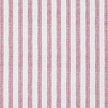 Fabrics Ticking Stripe Rose Penny Morrison BOLD, COLOUR_PINK, COLOUR_RED, DESIGNER_PENNY MORRISON, GEOMETRIC, LINES, PANELS, PATTERN_STRIPES, ROSE, SIMPLE, STATEMENT, STRIPE, VERTICAL