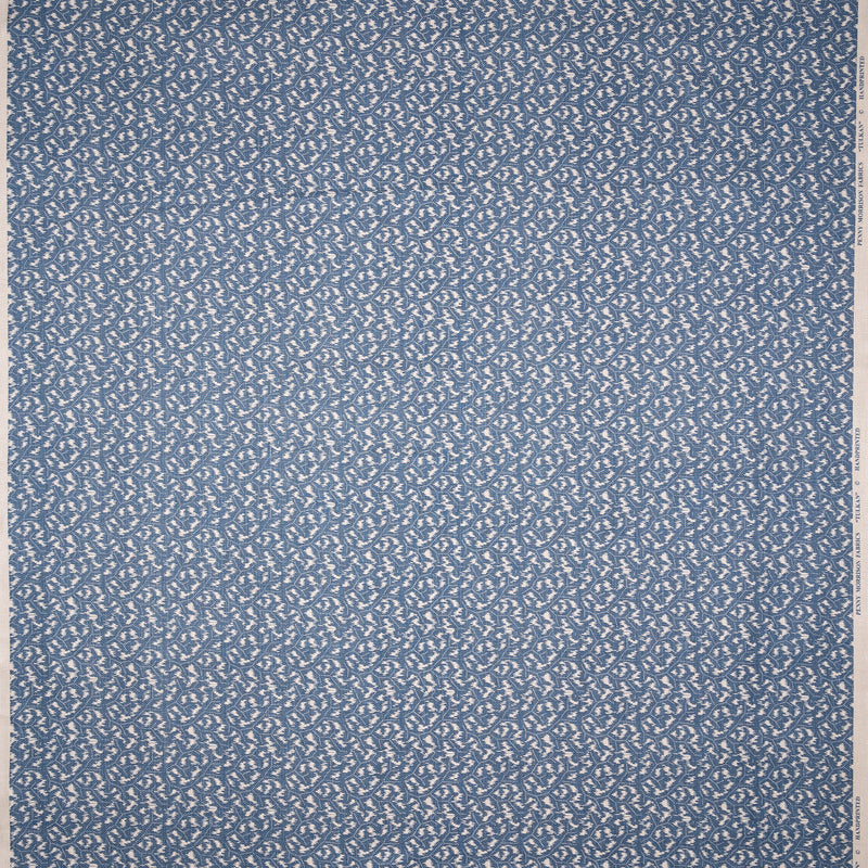 Fabrics Tulkan Blue Penny Morrison BOLD, COLOUR_BLUE, DESIGNER_PENNY MORRISON, GEOMETRIC, PATTERN_ABSTRACT, small pattern, SOLID, STRONG