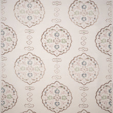 Fabrics Waverton Pink Penny Morrison CIRCULAR, COLOUR_BROWN, COLOUR_PINK, DESIGNER_PENNY MORRISON, DIAMONDS, ethnic, LINES, PATTERN_ABSTRACT, ROUND