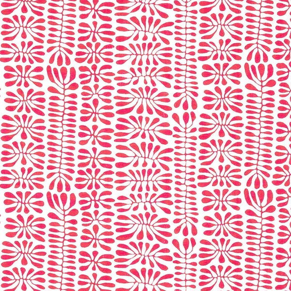 Fabrics Wiggle Rose/Red Penny Morrison BOLD, BRIGHT, CHILDREN, COLOUR_PINK, COLOUR_RED, CONTEMPORARY, DESIGNER_SARAH VANRENEN, DOODLE, PATTERN_ABSTRACT, PLAYFUL, QUIRKY, SQUIGGLE, VIBRANT, WIGGLE