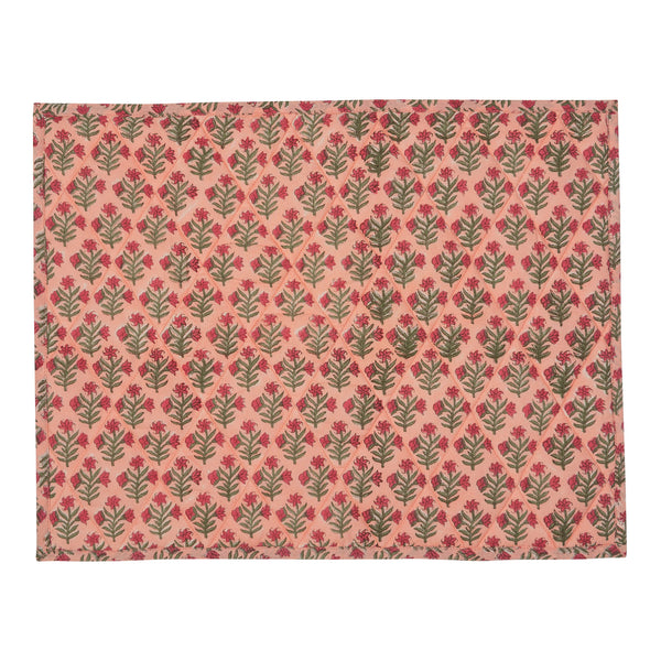 Penny-Morrison-Pink-Small-Flower-Reversible-Table-Mat-Floral-Pretty-Whimsical-Cute-Cloth-Table-accessory-patterned-quilted