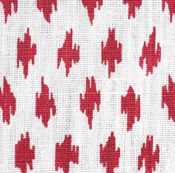 Fabrics Anni Red Penny Morrison COLOUR_RED, DESIGNER_PENNY MORRISON, PATTERN_ABSTRACT, PATTERN_DOTS