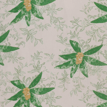 Fabrics Berri Grass Green Penny Morrison BOLD, COLOUR_GREEN, DESIGNER_SARAH VANRENEN, FLOWERS, leaf, NATURAL, NATURE, PATTERN_FLORAL, STATEMENT