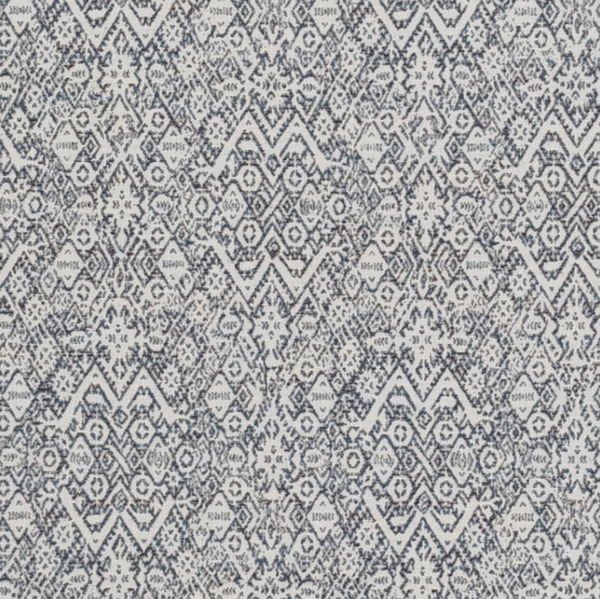 Fabrics Diamond Ethnic Corsican Penny Morrison bohemian, COLOUR_BLUE, DESIGNER_PENNY MORRISON, Diamond, ethnic, INTRICATE, PATTERN_GEOMETRIC, RUSTIC, small pattern, VINTAGE