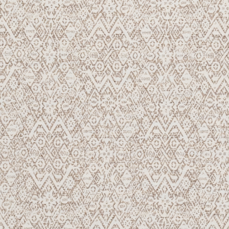 Fabrics Diamond Ethnic Nutmeg Penny Morrison bohemian, COLOUR_BROWN, DESIGNER_PENNY MORRISON, Diamond, ethnic, INTRICATE, PATTERN_GEOMETRIC, RUSTIC, small pattern, VINTAGE
