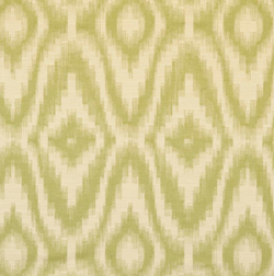 Fabrics Ikat Diamond Green Penny Morrison BLURRED, COLOUR_GREEN, CONTEMPORARY, DESIGNER_PENNY MORRISON, PATTERN_ABSTRACT, QUIRKY, TIE DIE, UNIQUE