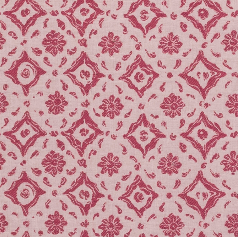 Penny-Morrison-Floral-Tile-Pink-Flowers-Tile-Dots-Abstract