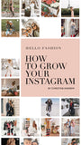How To Grow Your Instagram E-Book
