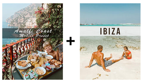 Mobile Preset Double Pack (Amalfi Coast + Ibiza)