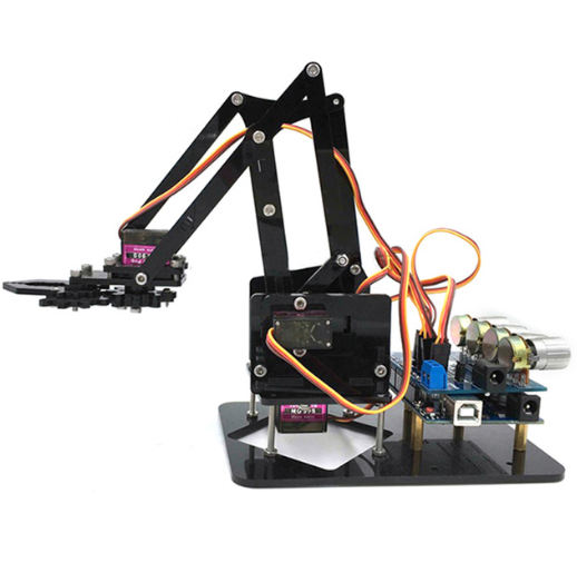 DIY 4-Axis Robotic Arm